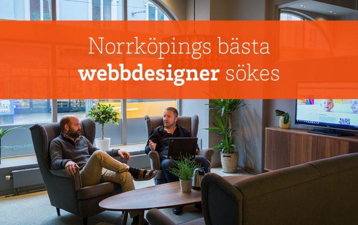 Bishop Media söker webbdesigner i Norrköping