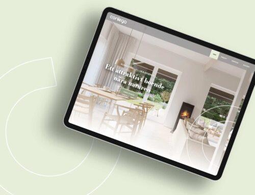 Fastighetsbolaget Conlegas nya hemsida lanserad