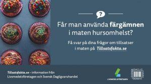 Tillsatsfakta.se – hemsida i WordPress av Bishop Media i Norrköping
