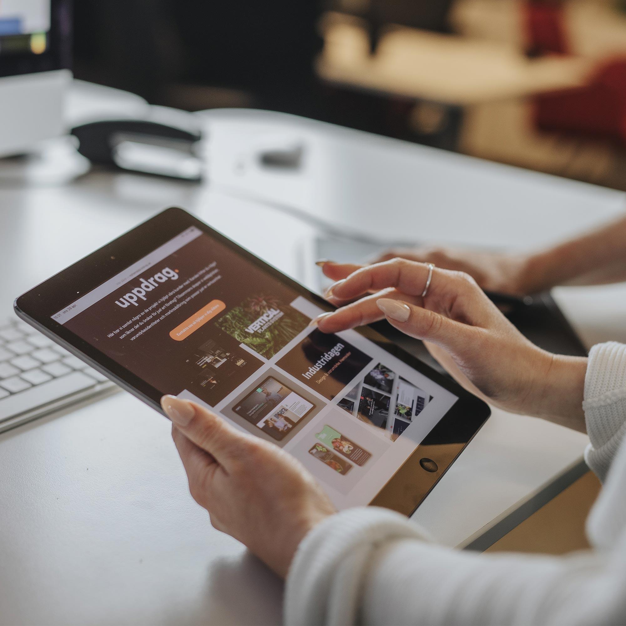 Webbyrå i Norrköping och Växjö bygger hemsidor