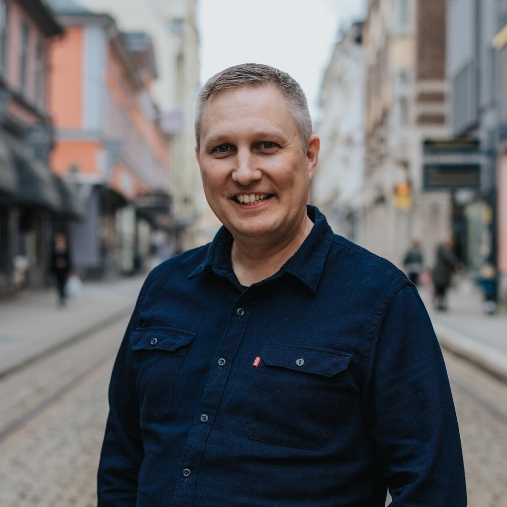 Simon La Fleur, tekniker på Bishop Media Webbyrå