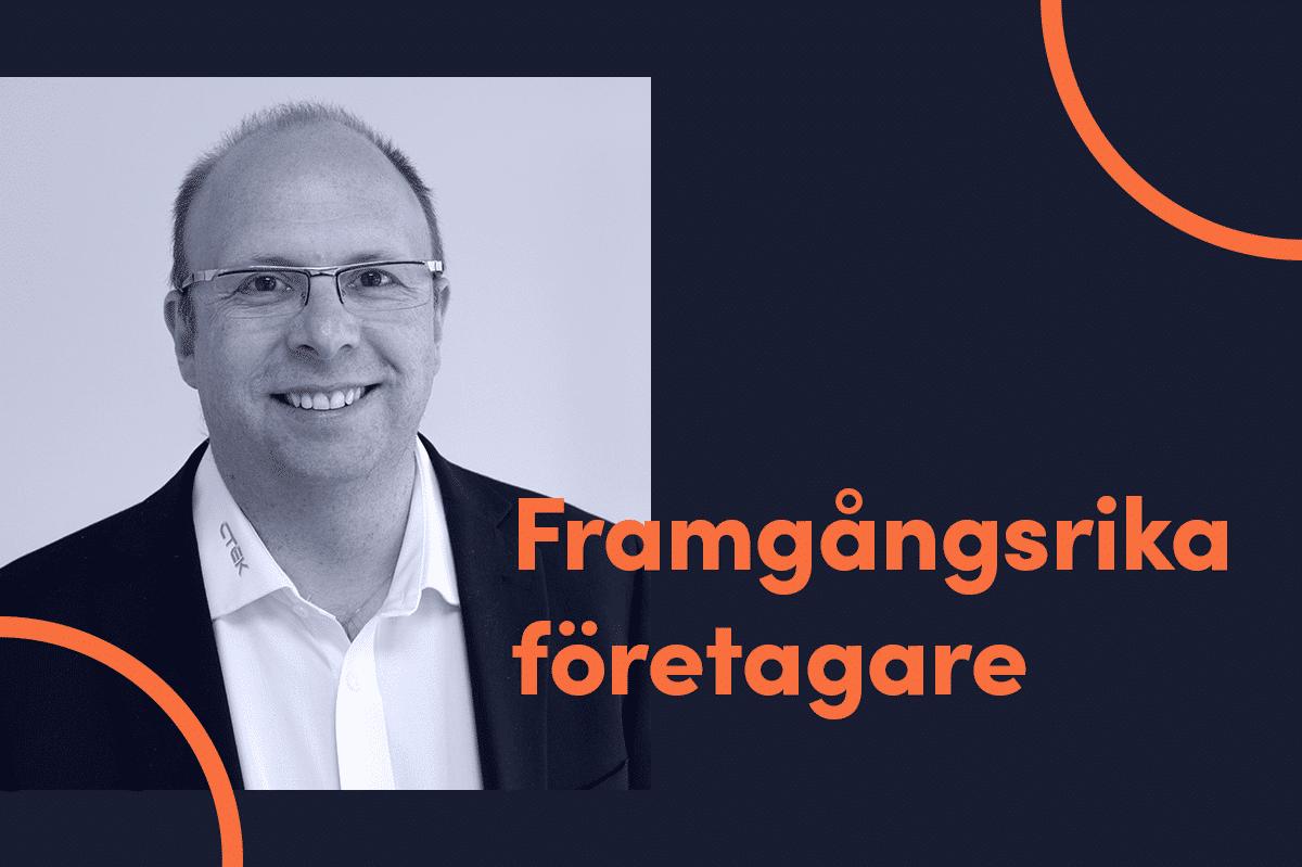 Patrik Lindergren är en framgångsrik företagare