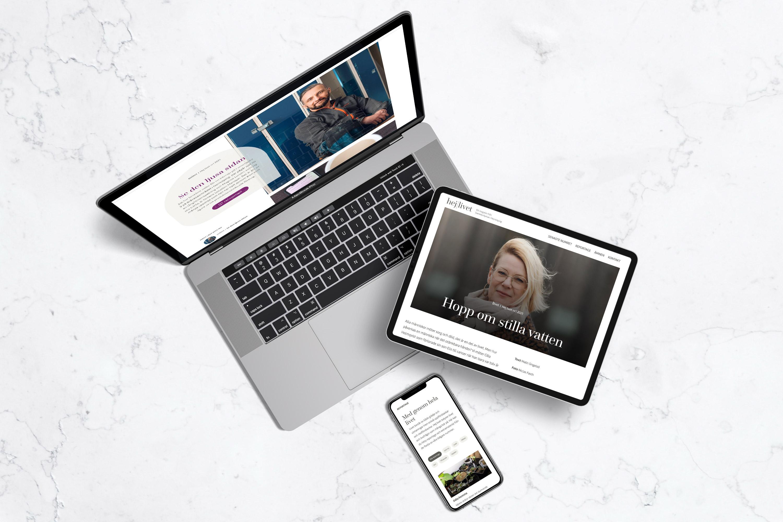 Hej Livets hemsida är mobilanpassad och responsiv och ser bra ut i alla skärmstorlekar