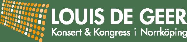 Louis de Geer konsert & kongress logotyp