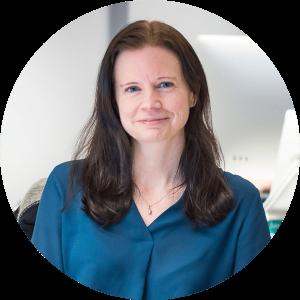 Maria Karlsson, specialist inom sökmotoroptimering på Bishop Media webbyrå