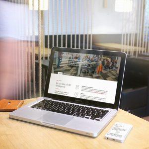 Norrköping Science Parks nya sida i kontorsmiljö