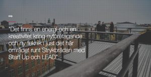 Norrköping Science Parks nya hemsida - detalj