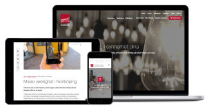 Uppdrag: Ny hemsida till Norrköping Science Park