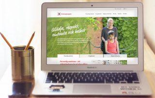 Omsorgsgruppen – hemsida av Bishop Media
