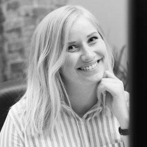 Sara Pärlefalk, grafisk formgivare och projektledare, Bishop Media