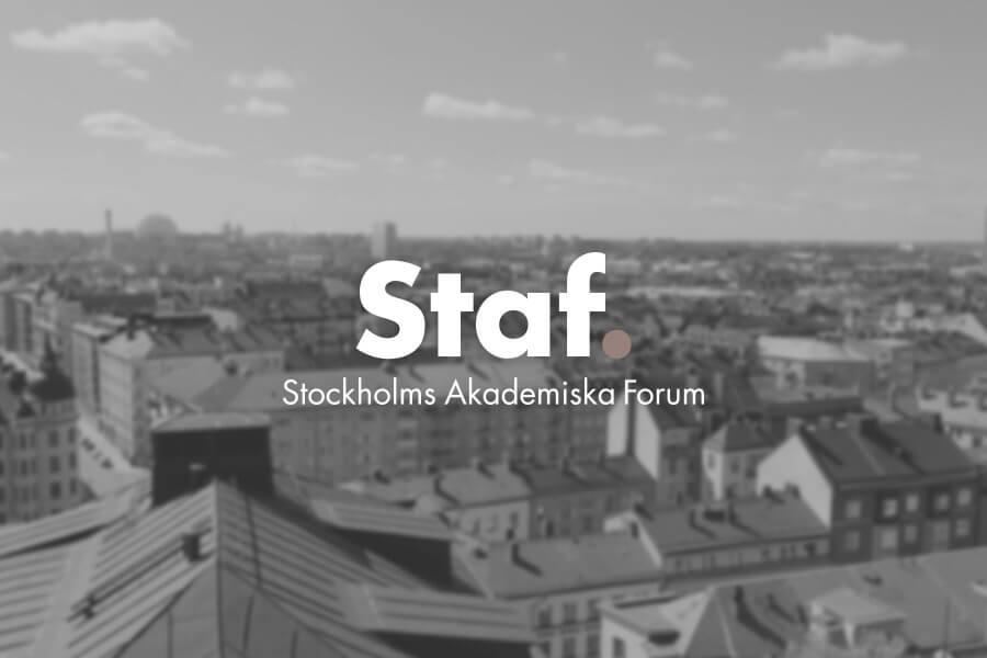 Hemsida till Stockholms Akademiska Forum