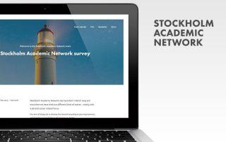 Stockholm Academic Network – hemsida i Wordpress från Bishop Media Webbyrå i Norrköping