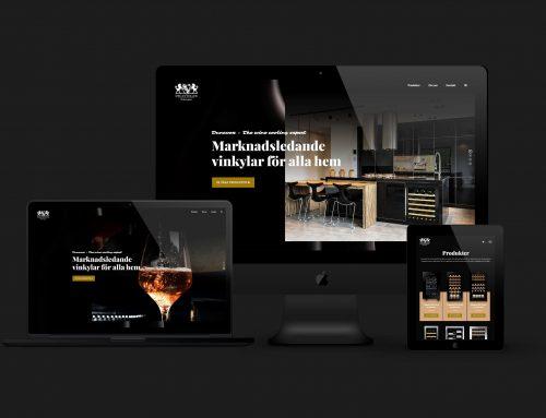 Klicka hem din vinkyl i Decantellers sprillans nya webbshop